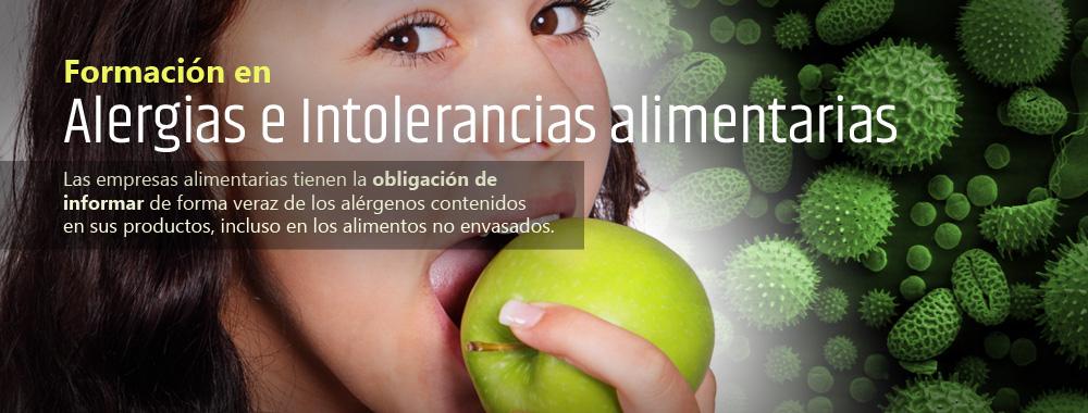 Formación en Alergias e Intolerancias alimentarias