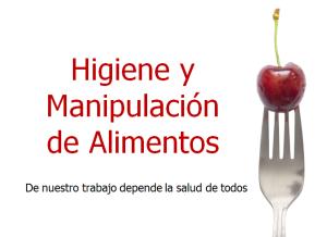 Carnet de manipulador de alimentos y esto para qu for Higiene y manipulacion de alimentos pdf